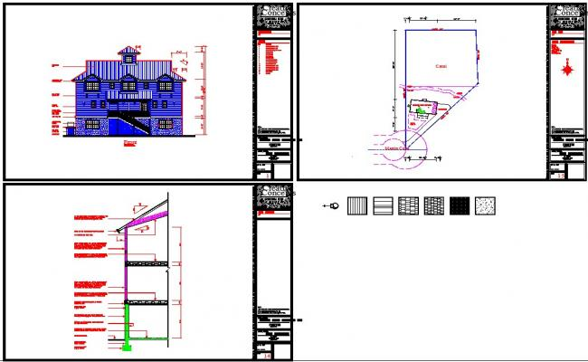 House autocad plan