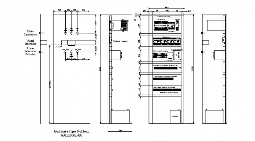Cabinet for drawing room interior and electric cad drawing details dwg file