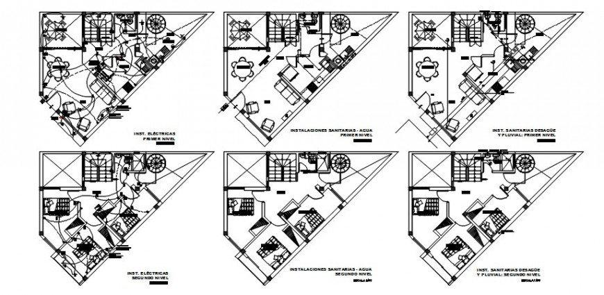 CAD apartment layout plan drawings details in autocad software file