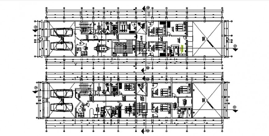 CAD drawings detail of house floor pan autocad software file