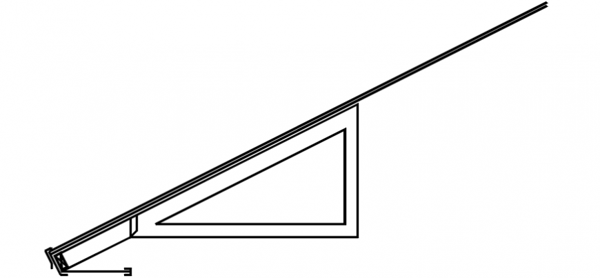 CAd drawings details of inclined plane curve
