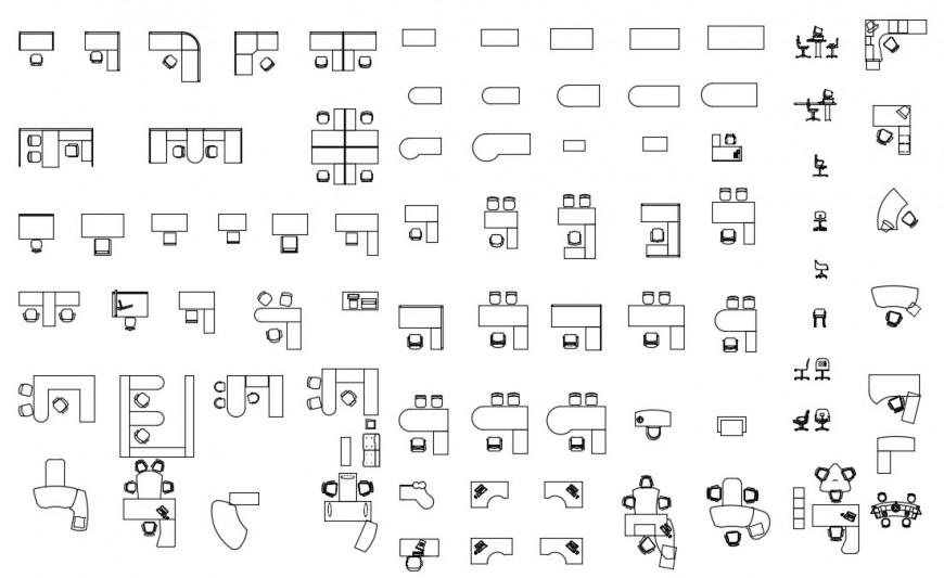 CAd drawings details of side elevation of work station
