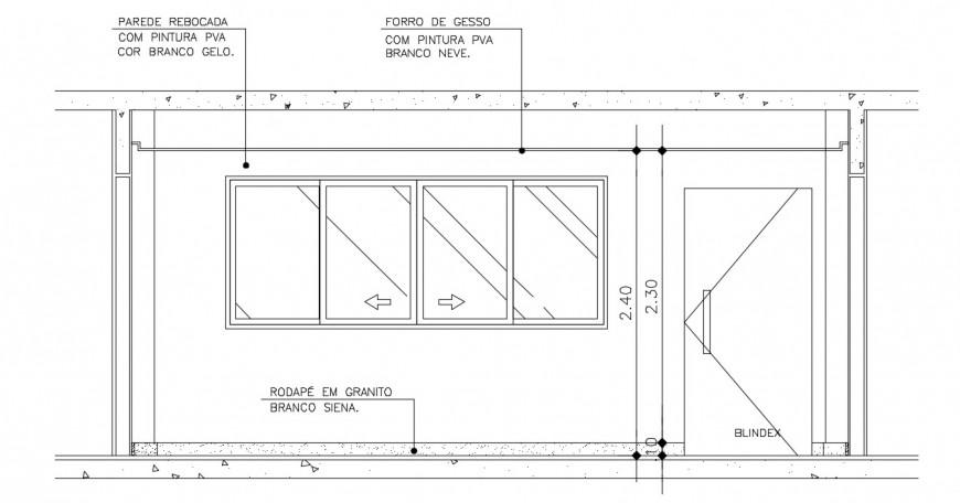 CAD elevation drawings detail 2d view door window blocks dwg file