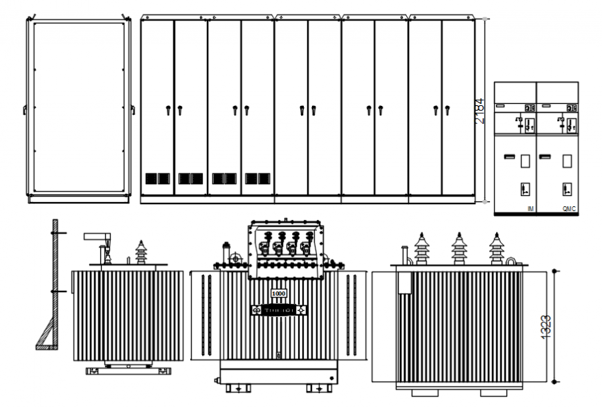 CAD elevation drawings details of furniture units dwg autocad file