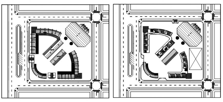 CAD planning details of area drawings 2d view autocad file