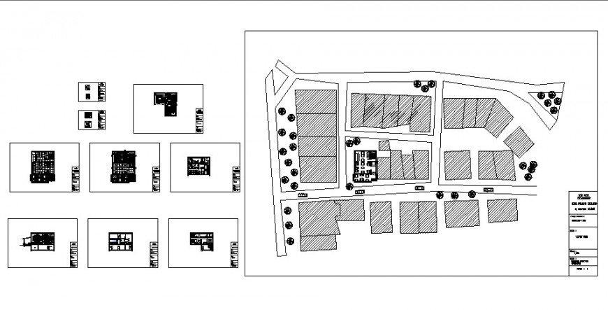 Café and bar project detail drawing in dwg AutoCAD file.