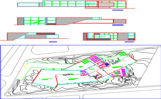 campus recreation dwg file