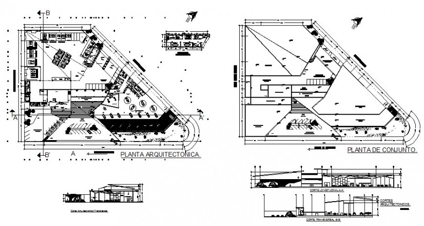 Car agency layout plan detail drawing in AutoCAD file.