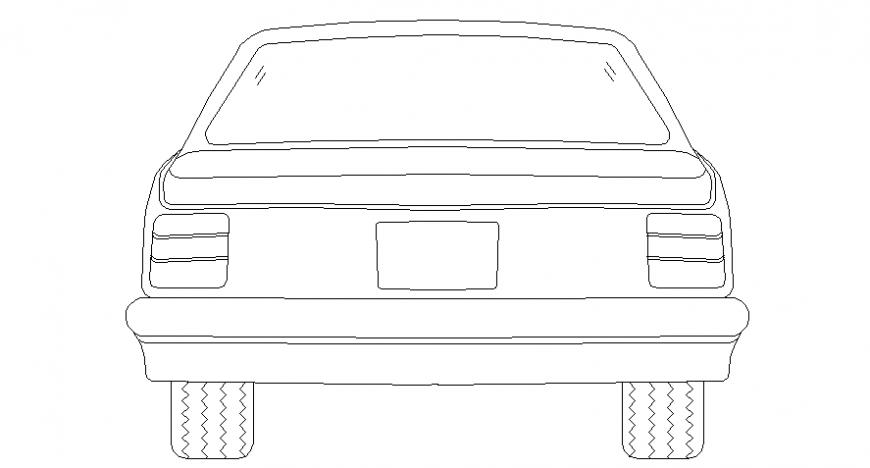 Car back model detail file
