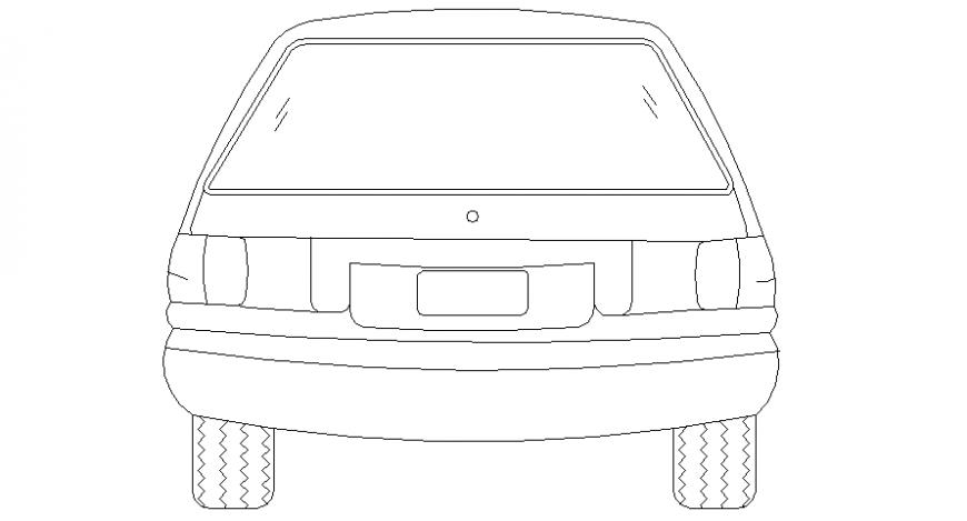 Car model elevation detail