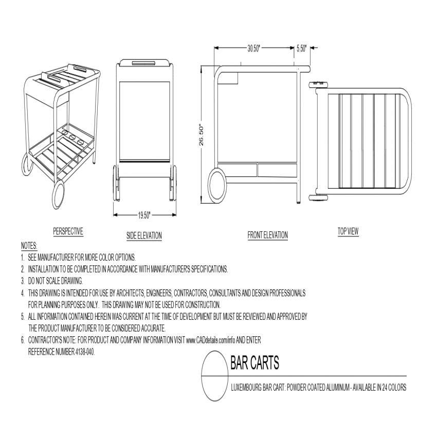 Kitchen Dwg File: Kitchen Furniture Pull-out Table Isometric View And Trash
