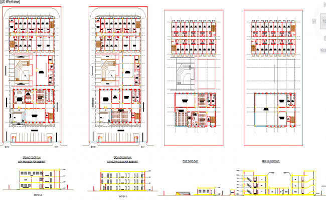 Training institute design plan