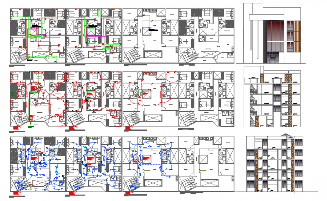 Hotel detail plan project