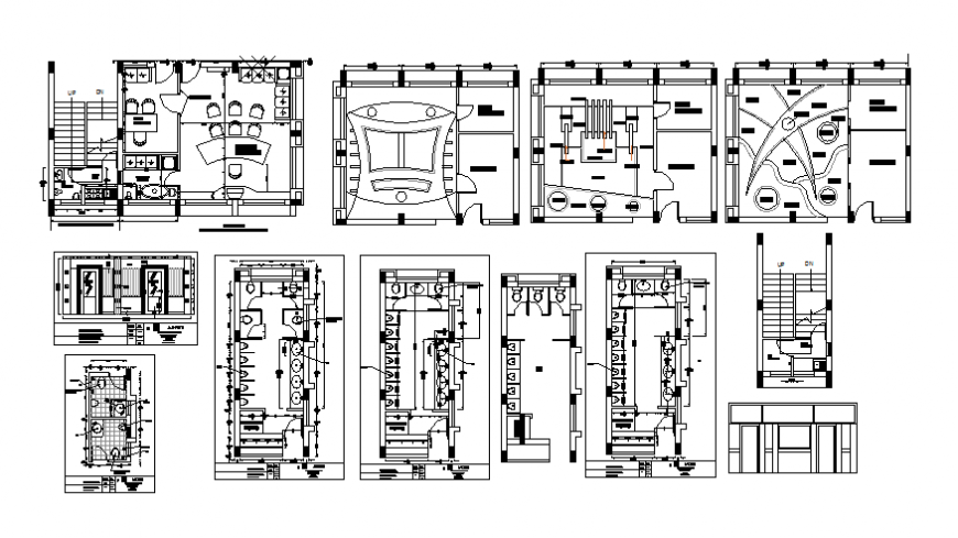 Ceiling detail public toilet plan and section autocad file