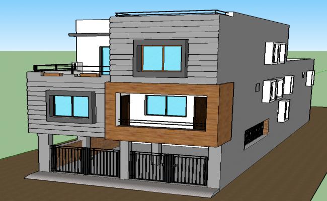 Duplex House Project