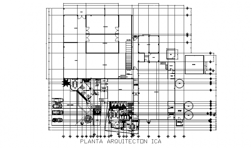 Cheese making processing plant architecture layout plan details dwg file