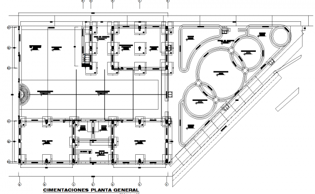 child day care elevation dwg file