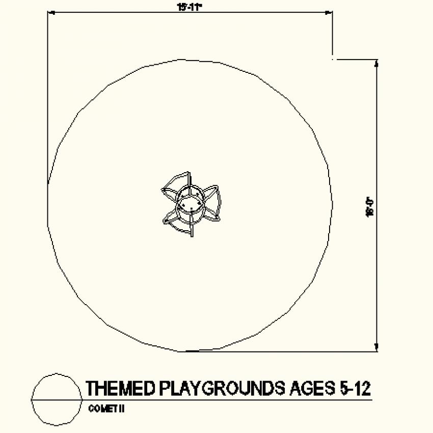 Circle shaped type layout file