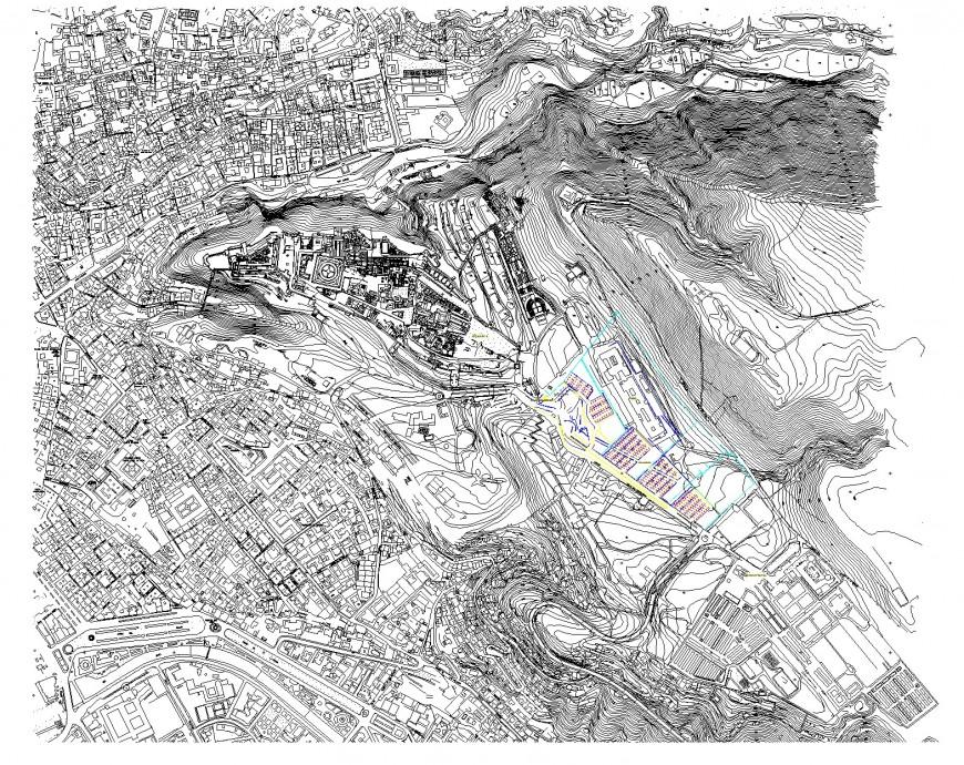 City development layout file