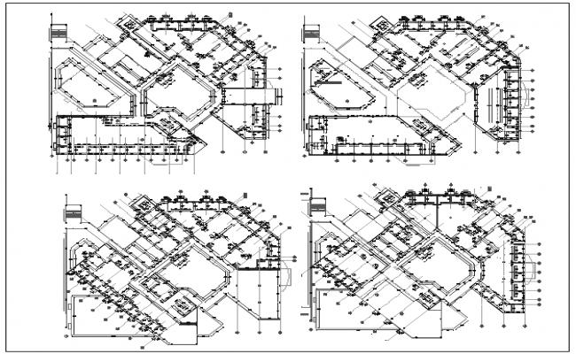 civil layout plan dwg file