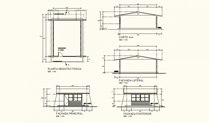 Class room detail elevation and plan layout file