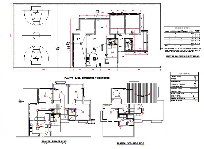 Club house detail 2d view layout plan in autocad format