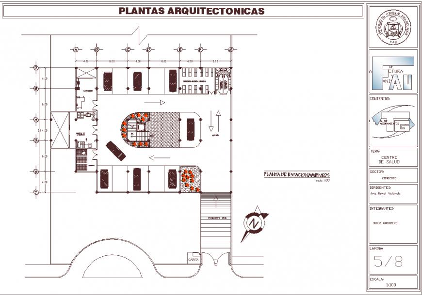 Club plan drawing in dwg file.