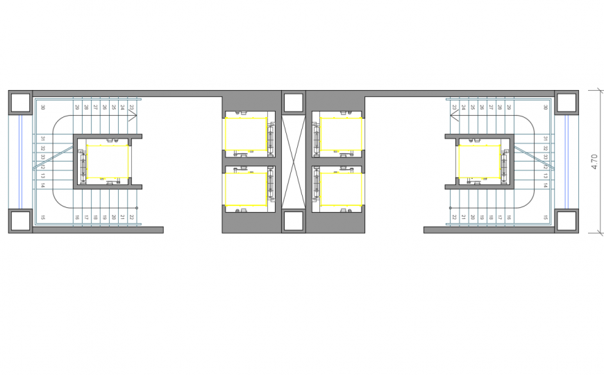 College prayer area layout plan cad drawing details dwg file