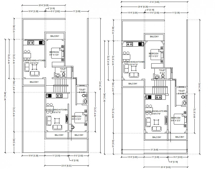 colony residence apartment layout plan