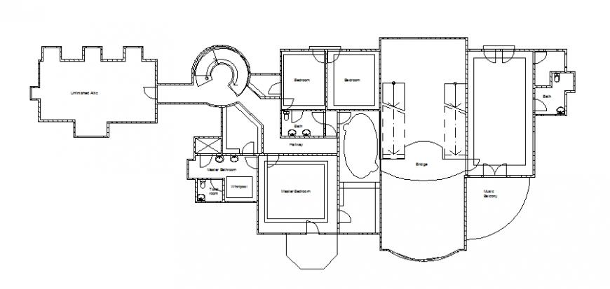 Commercial building 2 d plan layout file