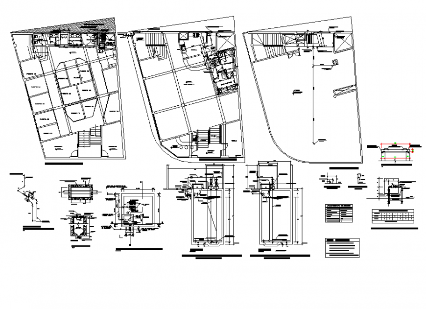 Commercial building layout file