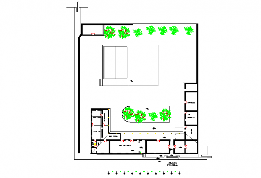 Commercial Complex Design Lay-out
