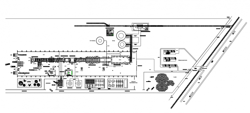 Commercial Complex Lay-out design all area mansion Detail