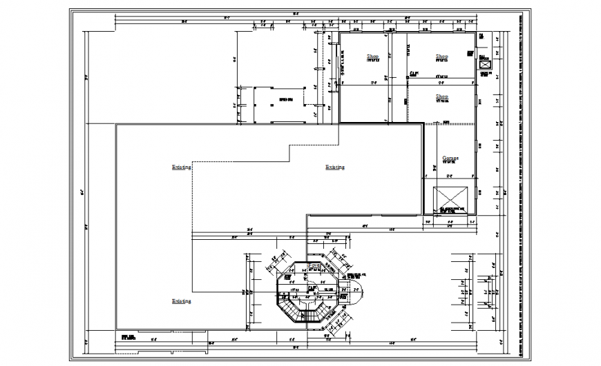 Commercial Complex Lay-out Detail Download file