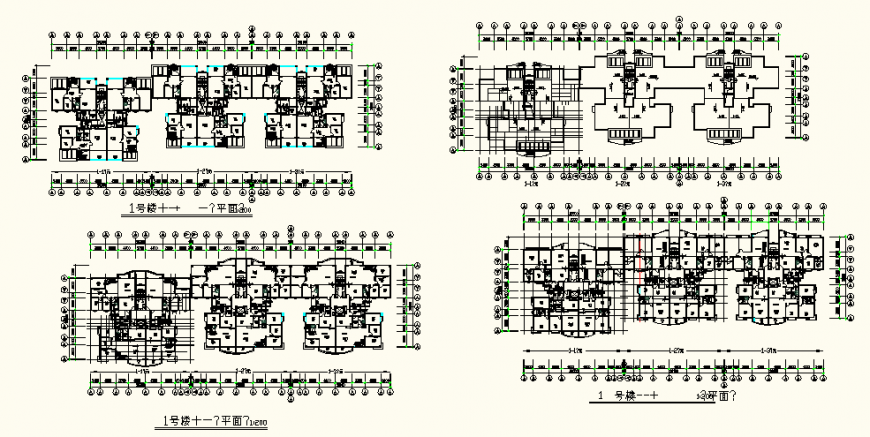 Commercial office building detail elevation an plan dwg file