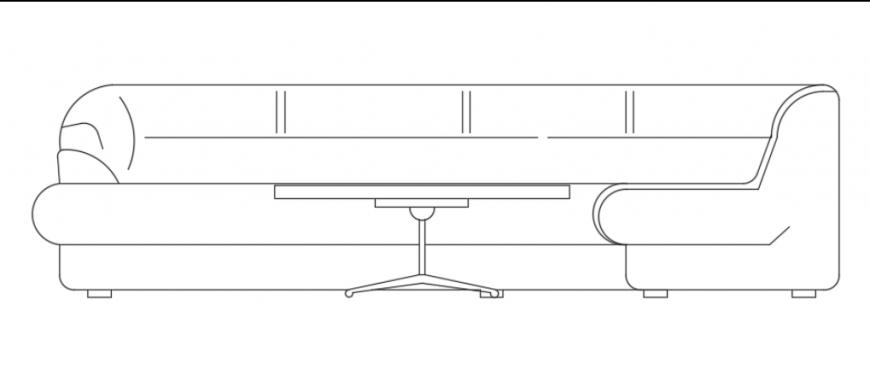 Corner sofa set details