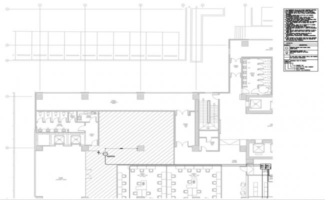 corporate  Building Layout of wireless access point detail.