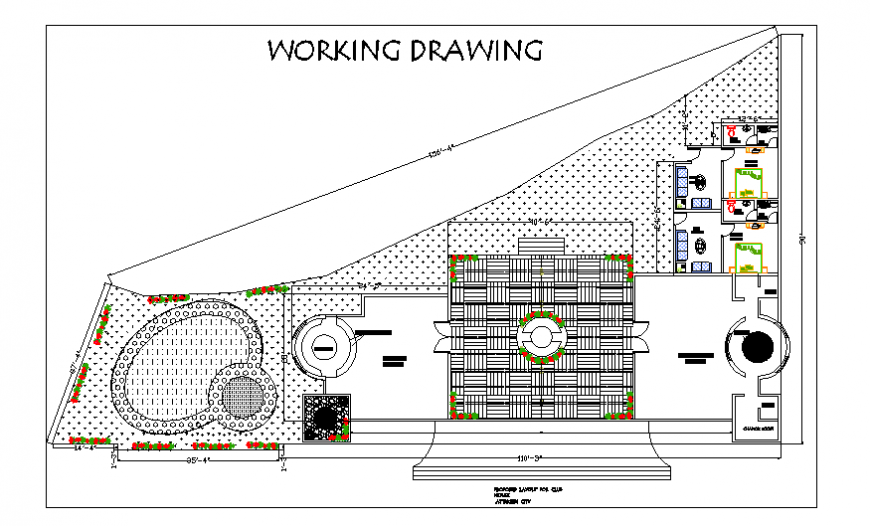 Corporation school working drawing planning detail
