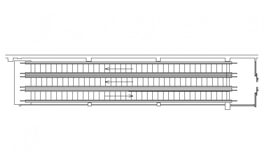 Creative flat elevators drawing cad details dwg file