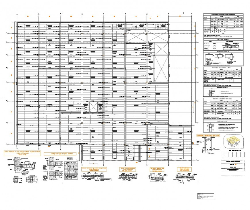 Cultural center plan and section autocad file