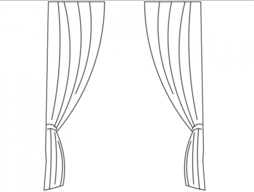 Curtain ront elevations