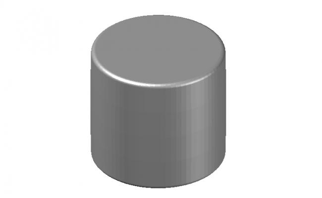 cylindrical shape stool