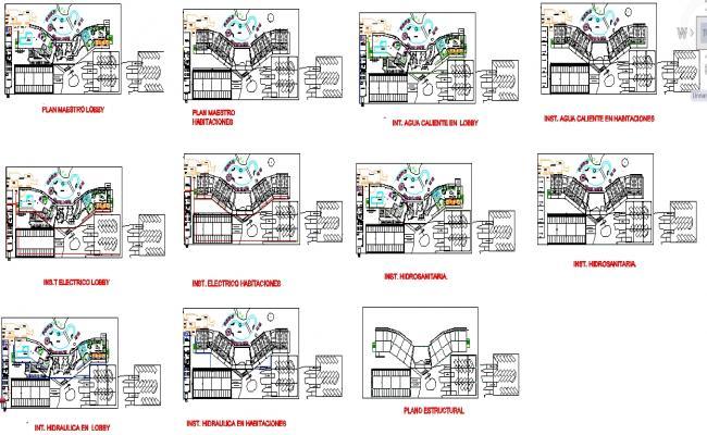 Hotel Master Plan