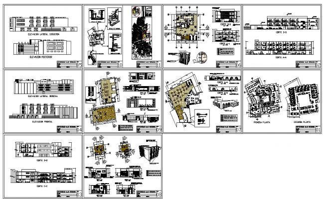 Hotel Design plan detail
