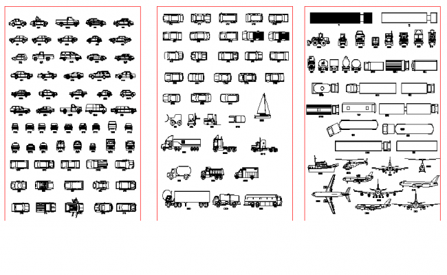 vehicles blocks