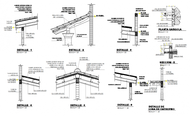 Ceiling Structure Design
