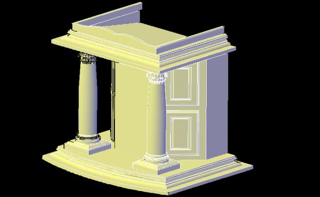 3d Gate Decoration