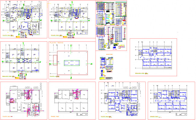 Compact Building plan