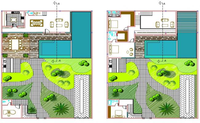 Duplex House Plan Design