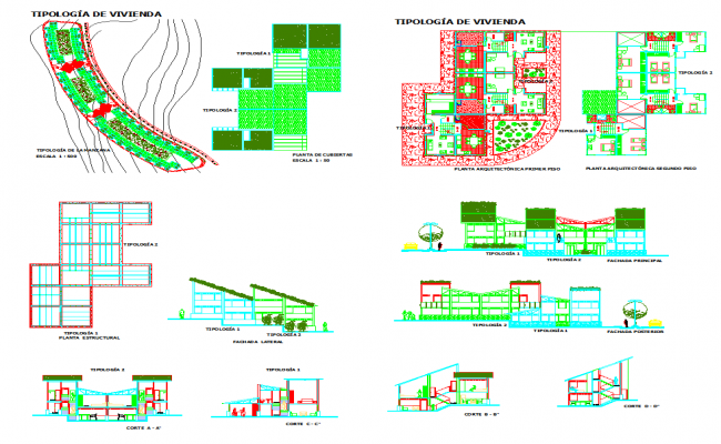 House design plan detail